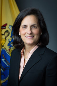 State Treasury Commissioner Elizabeth Muoio.